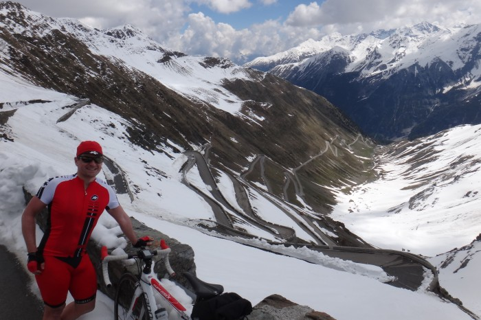 Europe - The view for Stelvio Pass
