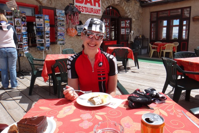 Europe - 1st cake stop (of 4!) on our Sella Ronda cake tour!