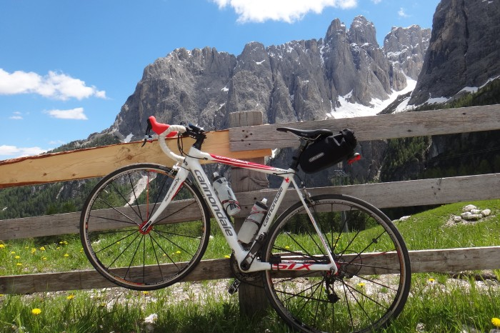 Cycling the Sella Ronda, Dolomites, Italy