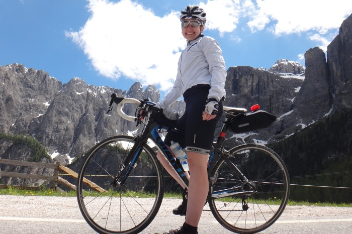 Europe - Cycling the Sella Ronda, Dolomites, Italy