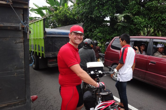 Bali  - Traffic jam in Bali