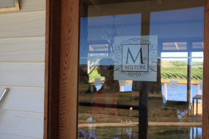 Tasmania - Wine tasting at Milton Winery