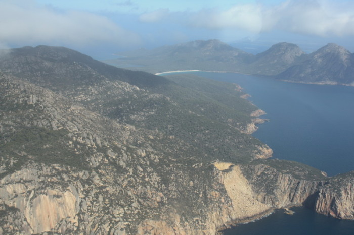 Tasmania - Wineglass Bay in the distance