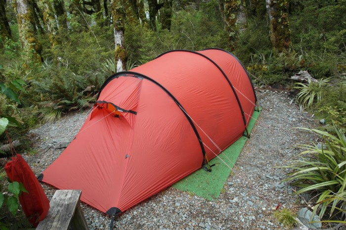 NZ 3 - 1 - Camping along the Routeburn Track