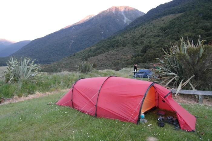 NZ 3 - 8 - Cameron Flat Campsite