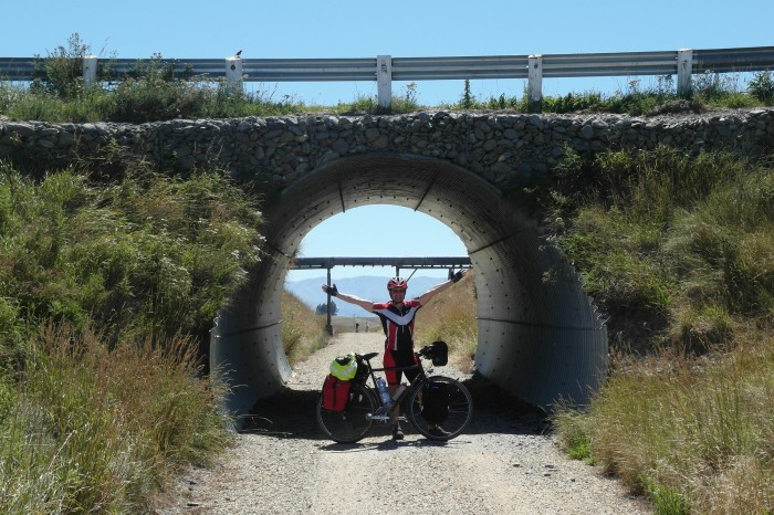 NZ 1 - One of many tunnels along the Otago Central Rail Trail