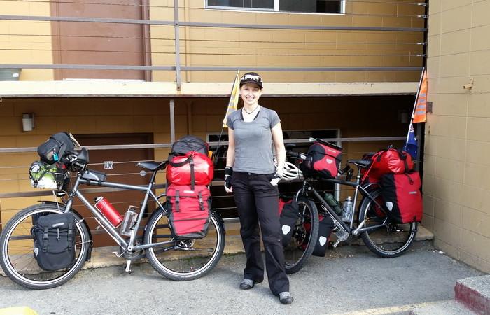 Day 1 - Jo at Alaska Backpackers Inn