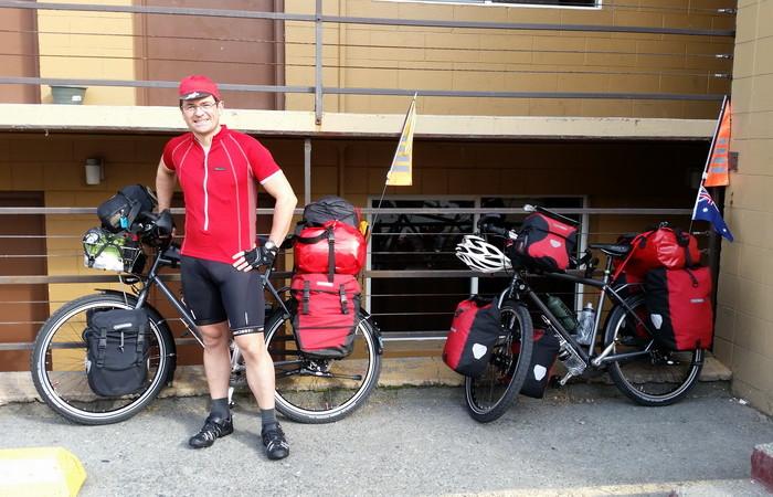 Day 1 - David at Alaska Backpackers Inn