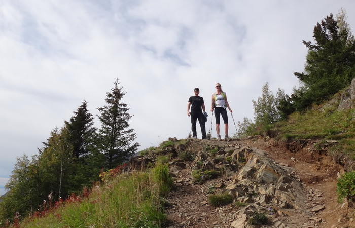 Anchorage - Hiking the Birdridge Trail with Erica