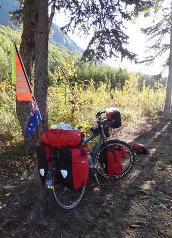 Day 2 - Jo's bike