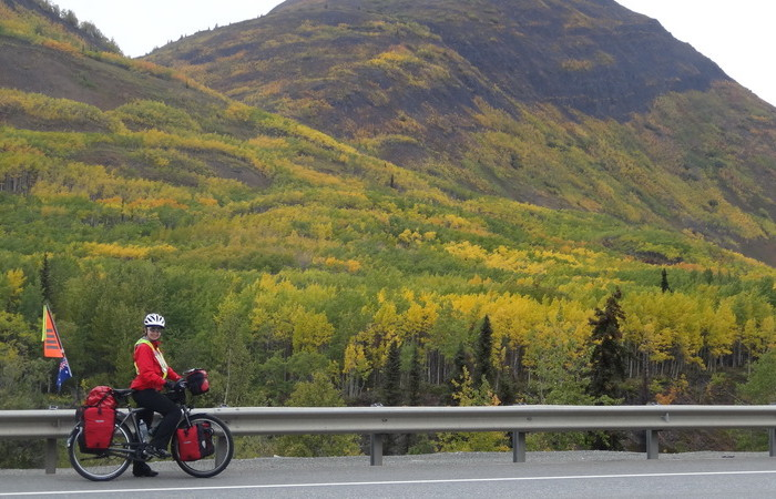 Day 3 - We love the colours in Alaska in Autumn