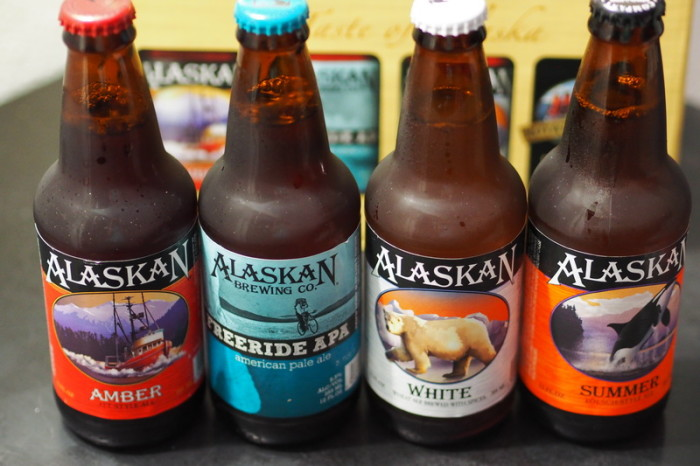Anchorage - Sampling some Alaska Ales!