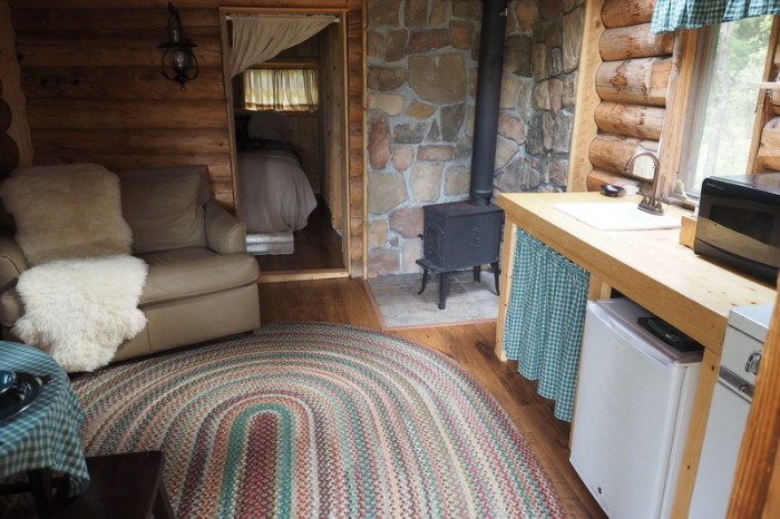 """Day 7 - """"Hermit's Cottage"""" at Red Eagle Lodge"""