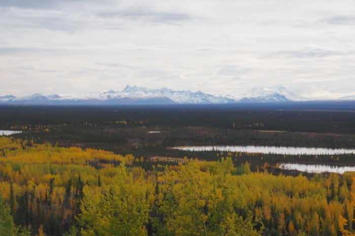 Day 8 - The Wrangell Mountains and lakes