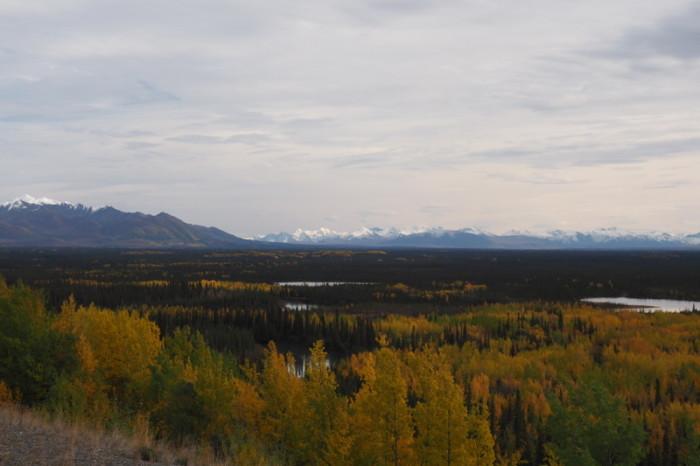 Day 8 - Beautiful Alaska - lakes and mountains!