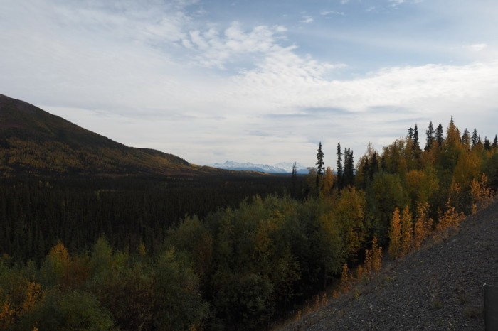 Day 8 - View of the Wrangell Mountains