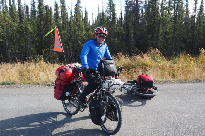 Day 9 - David on the road to Tok