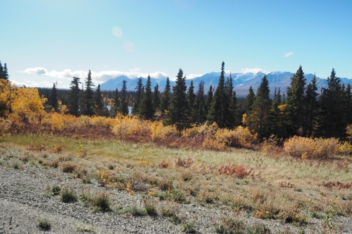 Canada 105 - View of the Kluane Ranges