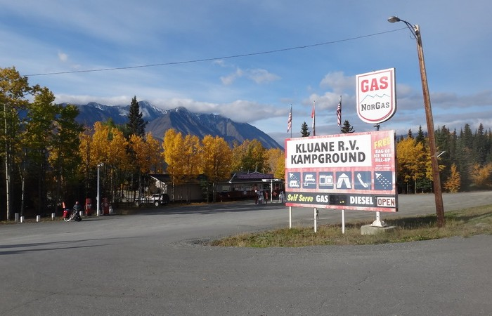 Canada 107 - Kluane RV Kampground, Haines Junction
