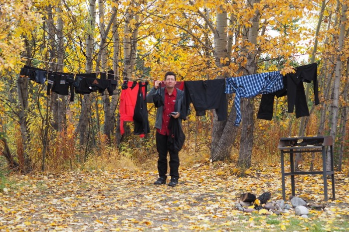 Canada 16 - Rest day = Washing day