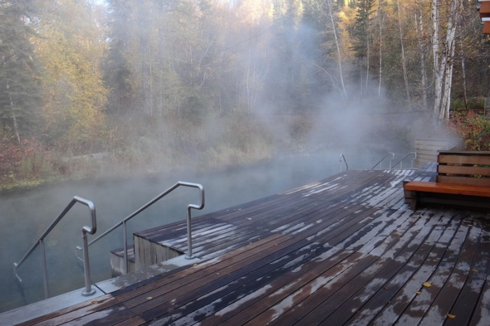 Canada 188 - The wonderful Liard Hotsprings