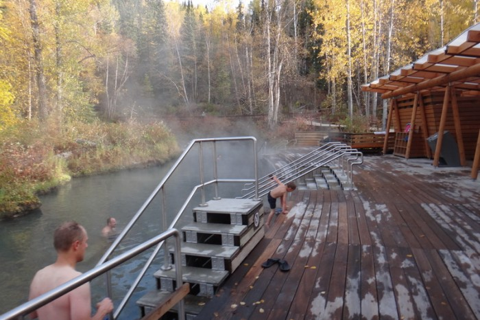 Canada 189 - We love this place - Liard Hotsprings