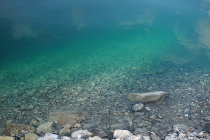 Canada 210 - Clear waters of Muncho Lake