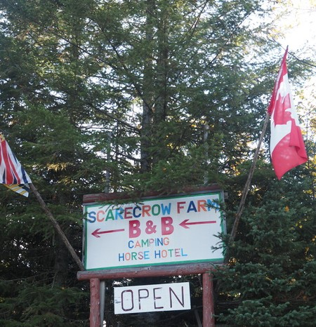 Canada 256 - Scarecrow Farm B&B - highly recommended!