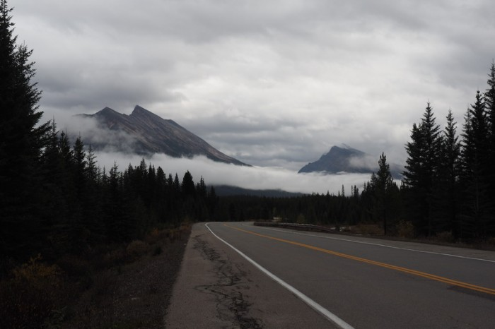 Canada 259 - Driving along the Icefields Parkway