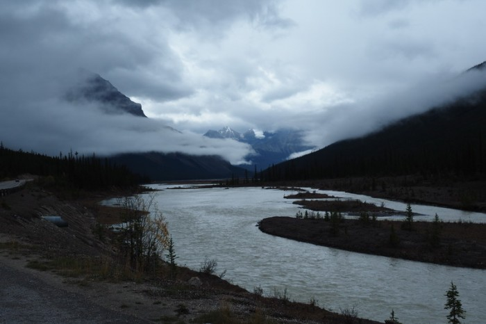 Canada 263 - Driving along the Icefields Parkway