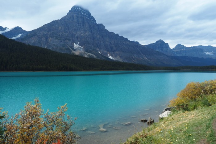 Canada 288 - More beautiful lakes along the Icefields  Parkway