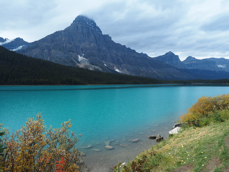 More beautiful lakes along the Icefields  Parkway