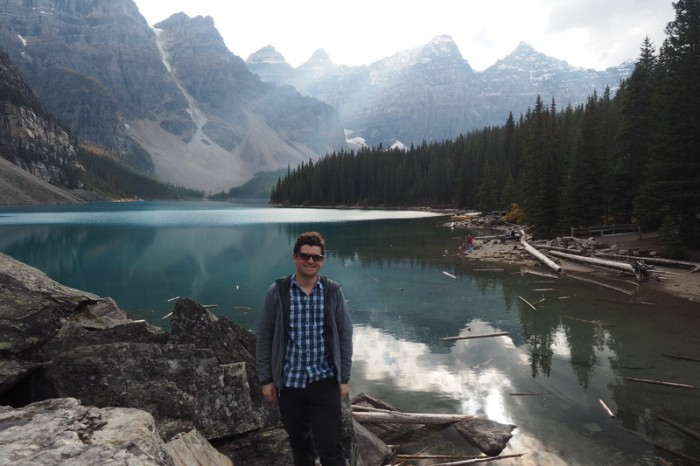 Canada 301 - David at Moraine Lake