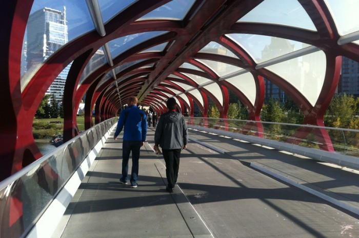 Canada 351 - Calgary's Peace Bridge