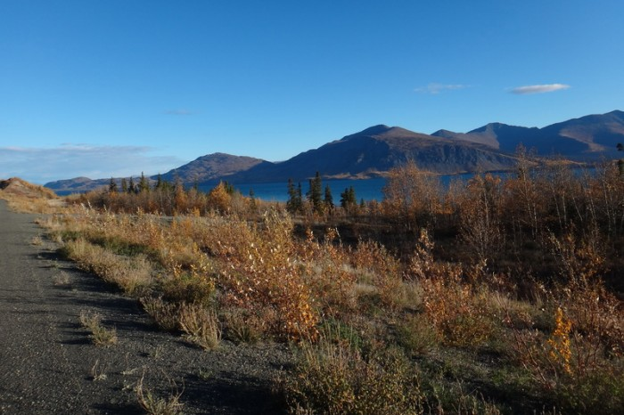 Canada 68 - Riding around Kluane Lake