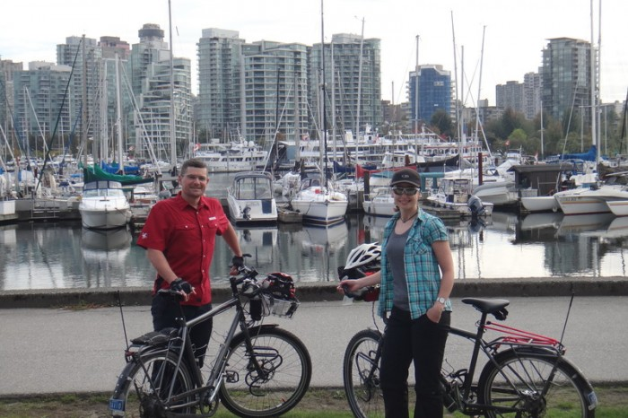 Vancouver - Cycling around Stanley Park