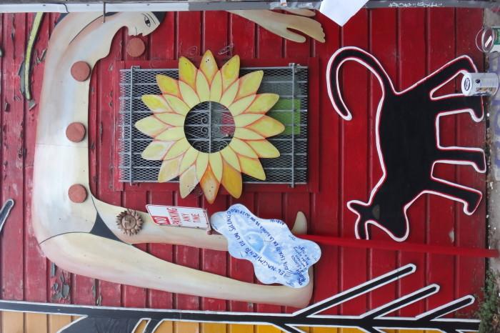 San Francisco - Cool street art, The Mission, San Francisco