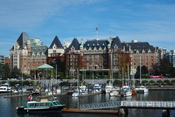 Vancouver Island - The Fairmont Empress Hotel