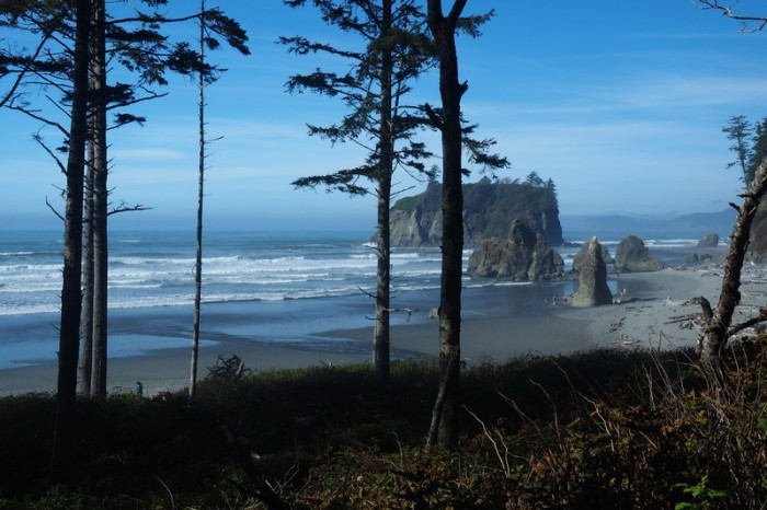 Olympic Peninsula, Washington State - Ruby Beach