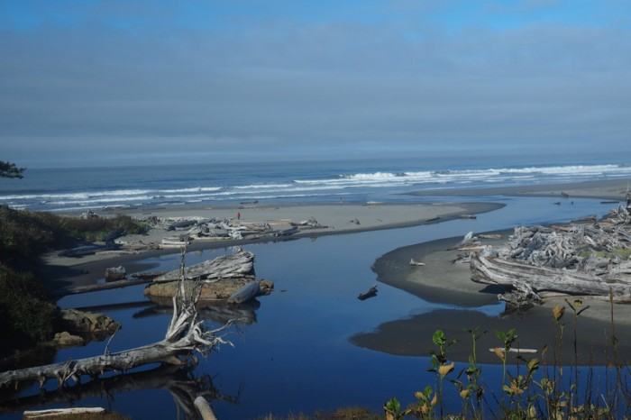 Olympic Peninsula, Washington State - View from Kalaloch Lodge