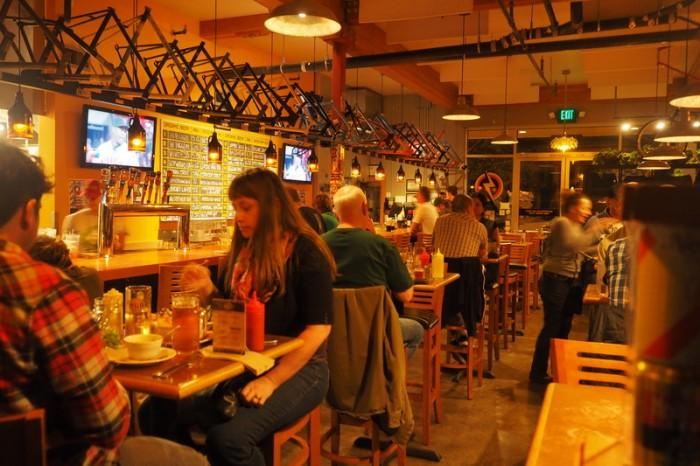 Portland, Oregon - The Bike Bar