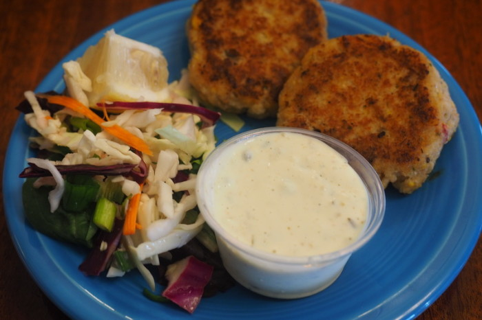 Portland to San Francisco - Fish cakes at Barnacle Bistro
