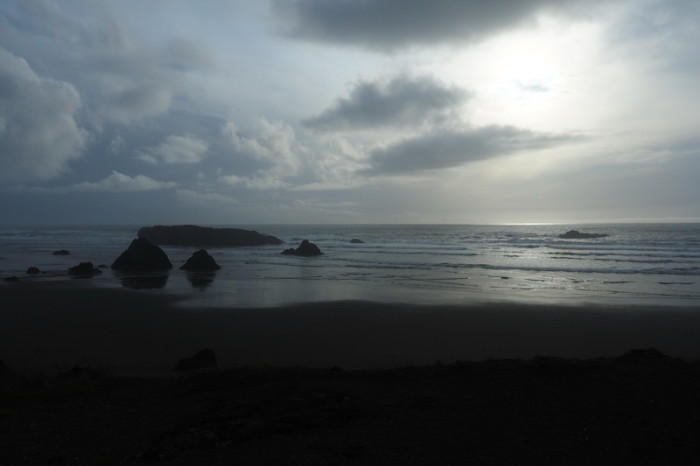 Portland to San Francisco - Beautiful views on the road to Brookings, Oregon
