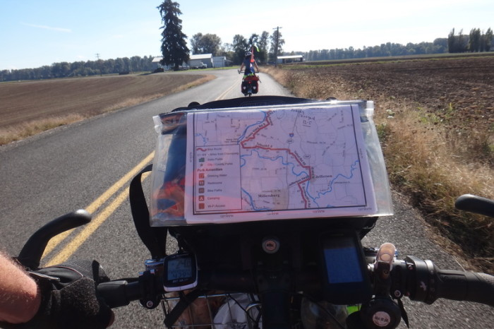 Portland to San Francisco - On the Willamette Valley Scenic Bikeway