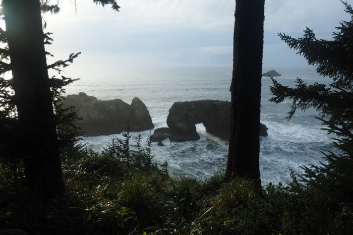 Portland to San Francisco - The Arch Rock, Boardman State Park, Oregon