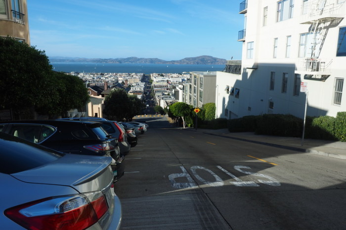San Francisco - San Francisco has crazy steep streets!
