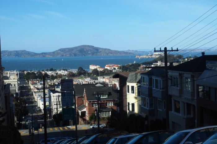 San Francisco - San Francisco has crazy steep streets!