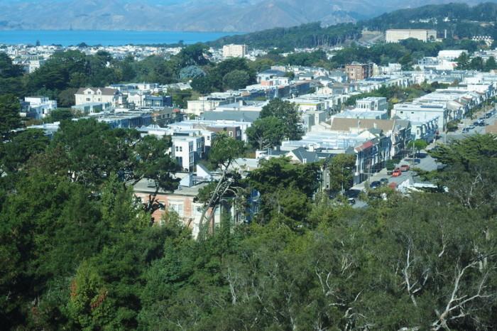 San Francisco - Views of San Francisco from De Young Museum