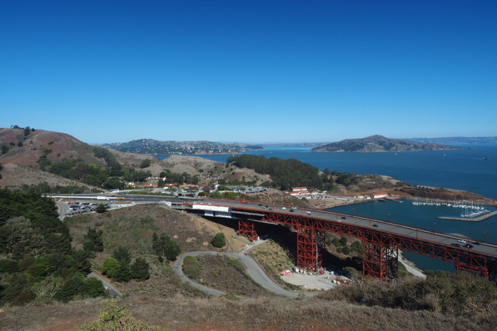 San Francisco - Views from the Golden Gate Bridge