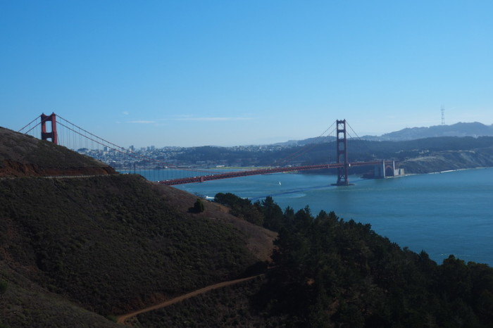 San Francisco - The Golden Gate Bridge